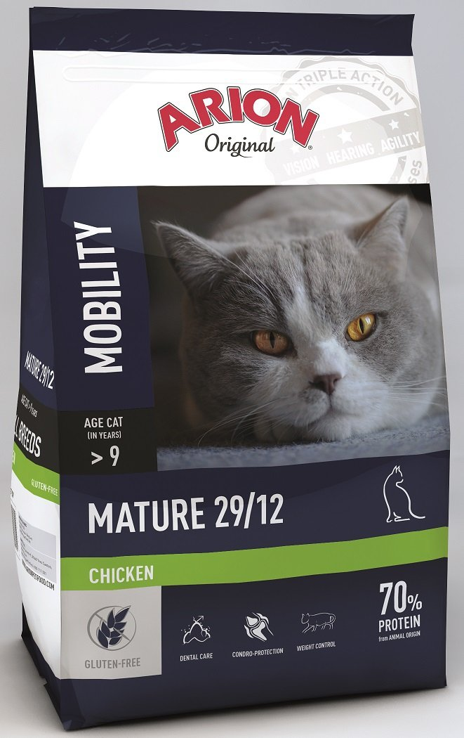 Arion Original Cat Mature 29/12 Chicken 2kg