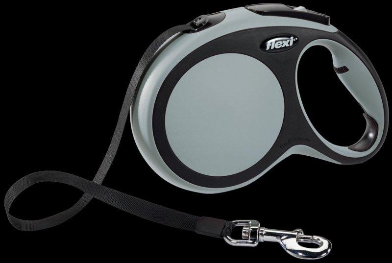 Flexi New Comfort L taśma 8m - szara