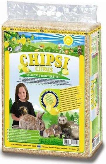 Chipsi Citrus Multi - trociny cytrynowe 60l