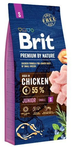 Brit Premium By Nature Junior Small 3kg