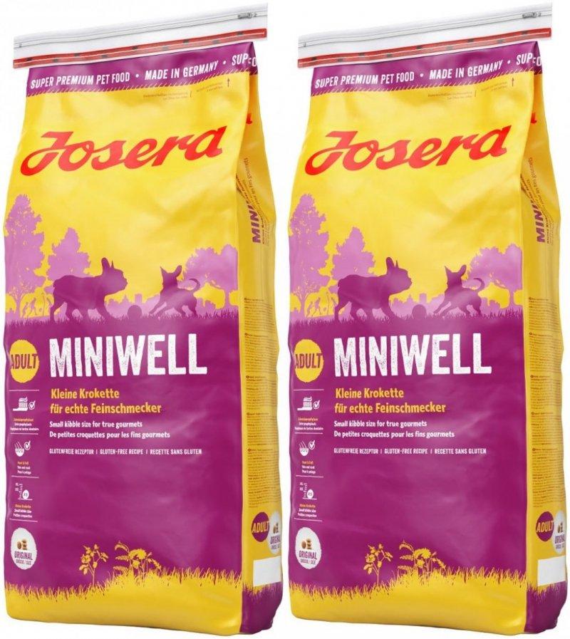 Josera Miniwell Adult Small 2x15kg (30kg)