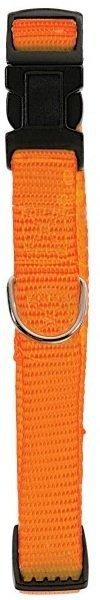 Zolux Obroża nylonowa regulowana 15mm - pomarańczowa