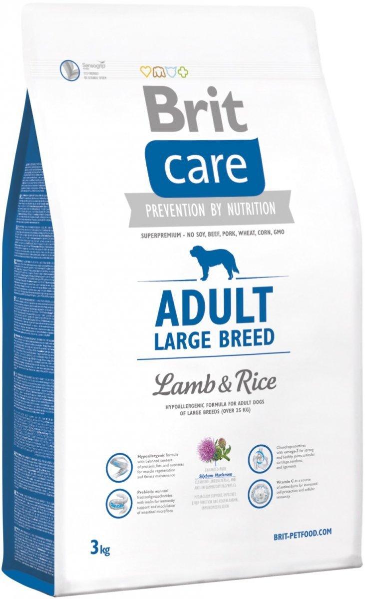 Brit Care N Adult Large Breed Lamb 38% & Rice 3kg