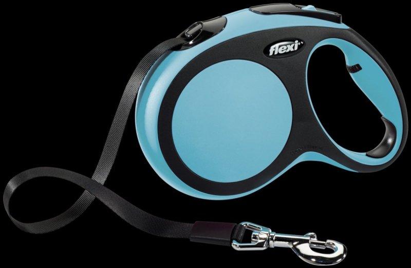 Flexi New Comfort L taśma 5m - niebieska