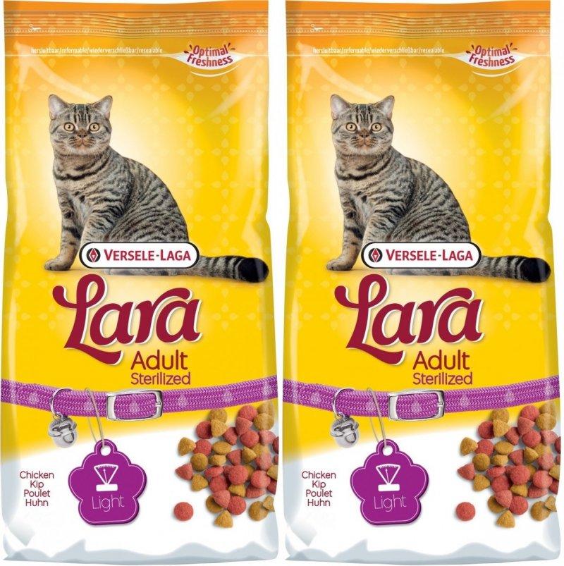Lara Adult Sterilized - dla kotów sterilizowanych 2x10kg (20kg)