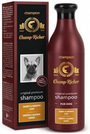 Champ-Richer - szampon do krótkiej i gładkiej sierści 250ml