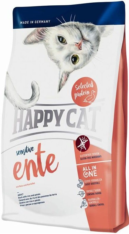 Happy Cat Sensitive Ente - Kaczka 4kg