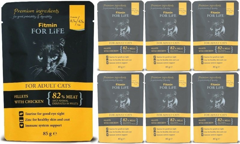 Fitmin Cat For Life Adult Chicken 24x85g