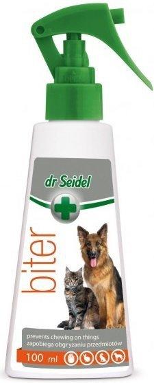 Dr Seidel Biter - płyn przeciwko obgryzaniu przedmiotów przez zwierzęta 100ml
