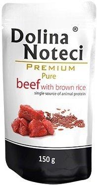 Dolina Noteci Premium Pure Wołowina z brązowym ryżem 10x150g