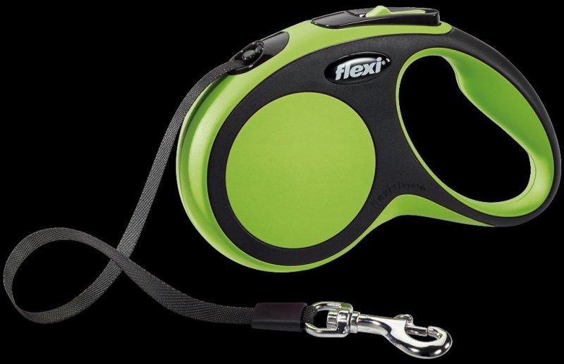 Flexi New Comfort S taśma 5m - zielona