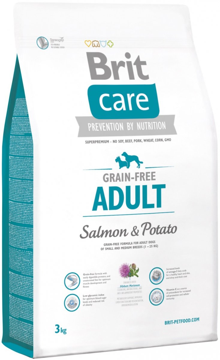 Brit Care Adult Grain Free Salmon & Potato 3kg