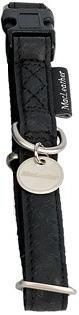 Obroza regulowana Mac Leather 15mm czarna