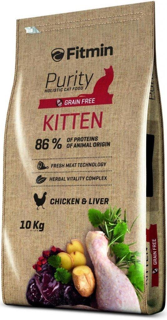 Fitmin Purity Kitten - Karma dla kociąt oraz ciężarnych i karmiących kotek 10kg