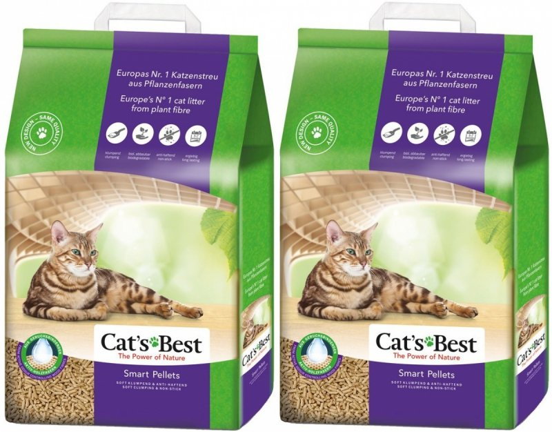 Cat's Best Smart Pellet 40L (2X20L)