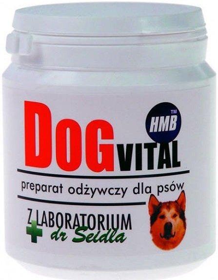 Dr Seidel Dog Vital - preparat odżywczy z HMB 150g