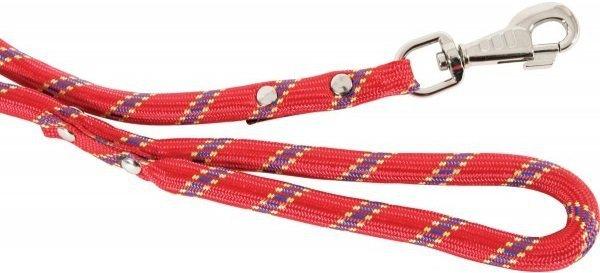 Zolux Smycz nylonowa czerwona - sznur 13mm/1,2m