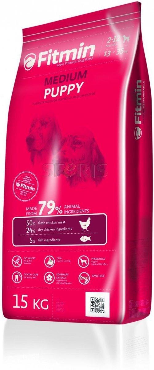 Fitmin Program Medium Puppy - karma dla szczeniąt średnich ras 2x15kg (30kg)