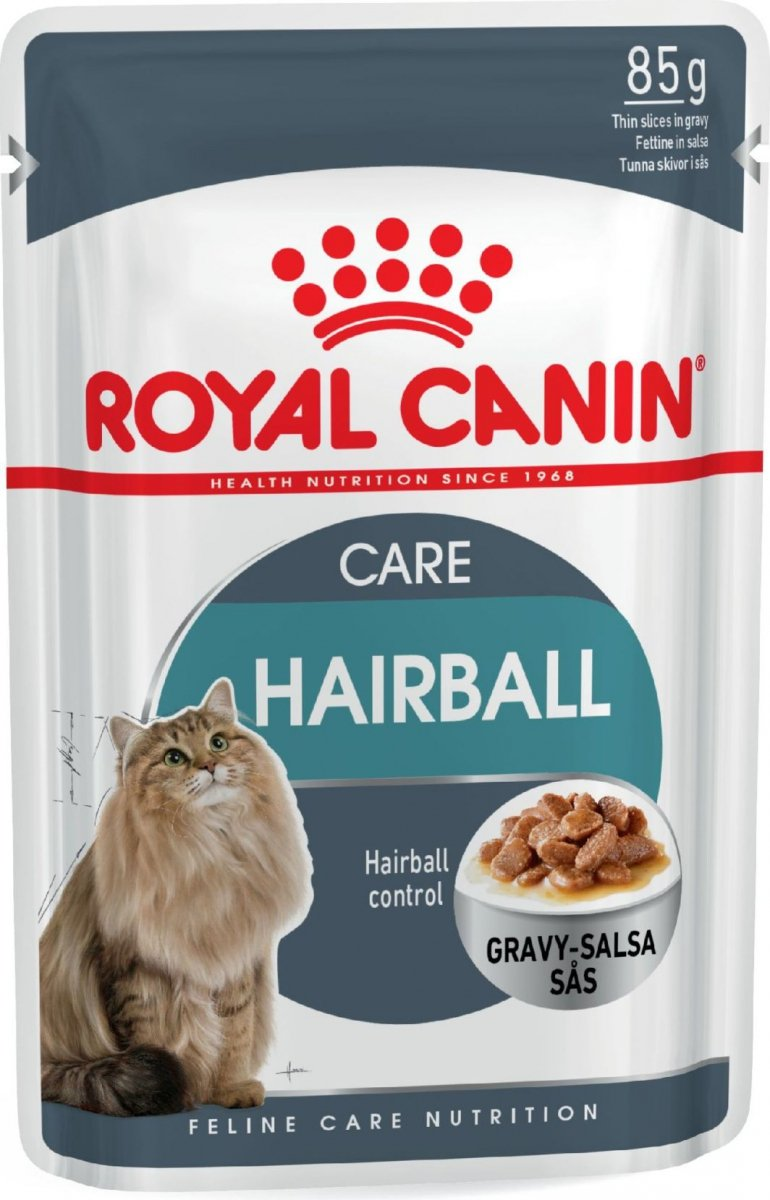 Royal Canin Hairball Care w sosie 12x85g