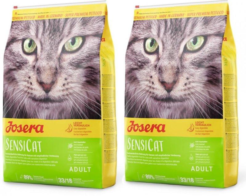 Josera SensiCat - dla wybrednych i wrażliwych kotów 2x10kg (20kg)