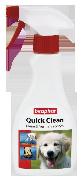 Beaphar Quick Clean - spray do czyszczenia i usuwania brudu z sierści psa 250ml