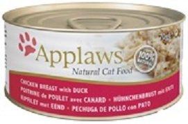 Applaws Puszka dla kota z kurczakiem i kaczką 24x70g
