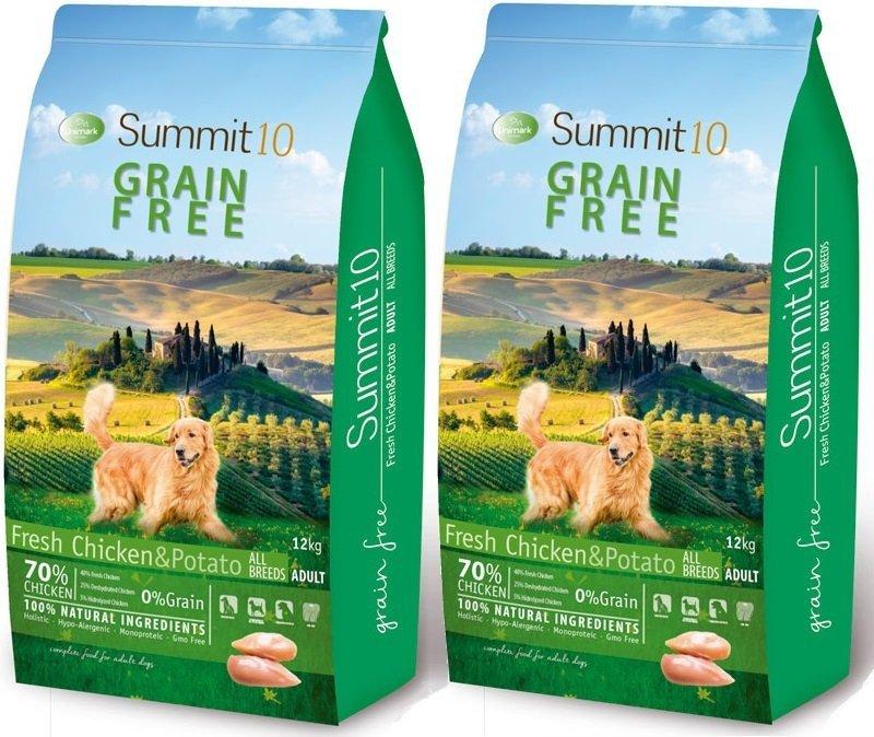Summit10 Grain Free Chicken & Potato 70% Mięsa 2x12kg (24kg)
