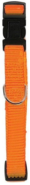 Zolux Obroża nylonowa regulowana 20mm - pomarańczowa