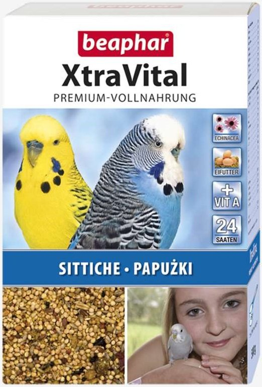 Beaphar XtraVital - karma premium dla papużek 500g