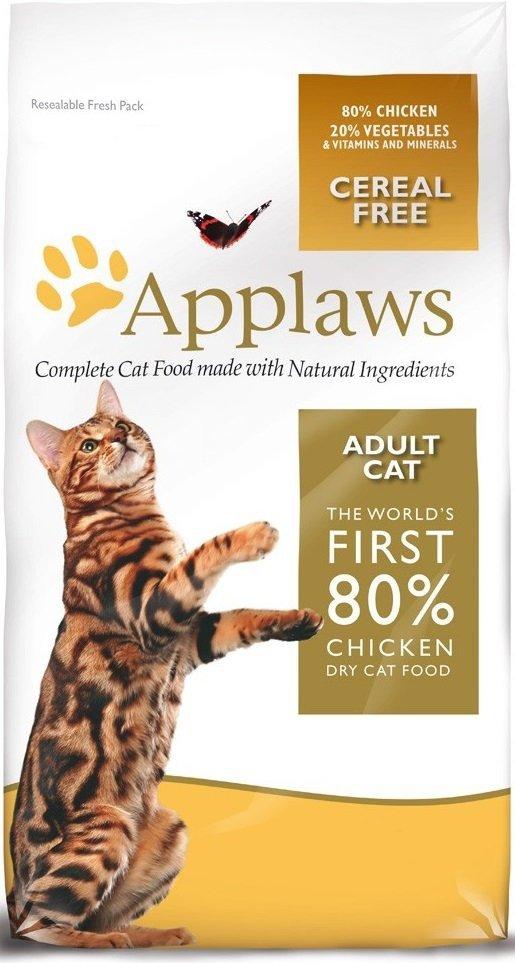 Applaws Sucha karma dla kotów z kurczakiem 7,5kg