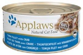 Applaws puszka dla kota Tuńczyk z Krabem 24x70g