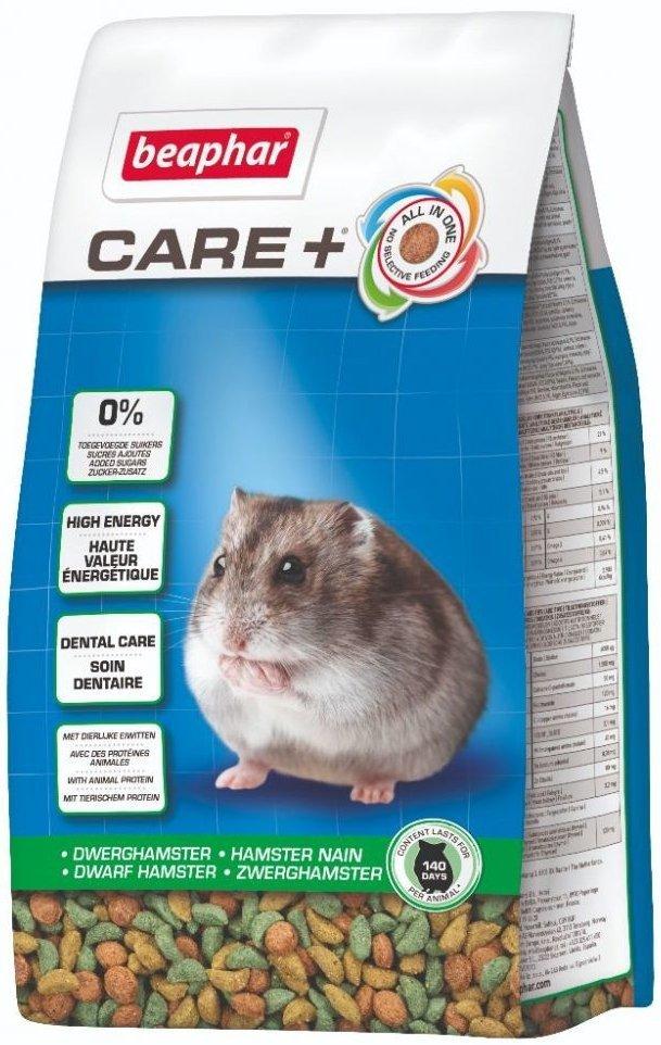 Beaphar Care+ Dwarf Hamster - karma super premium dla chomików karłowatych 700g