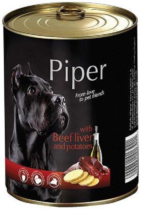Piper z wątróbką wołową z ziemniakami 12x800g