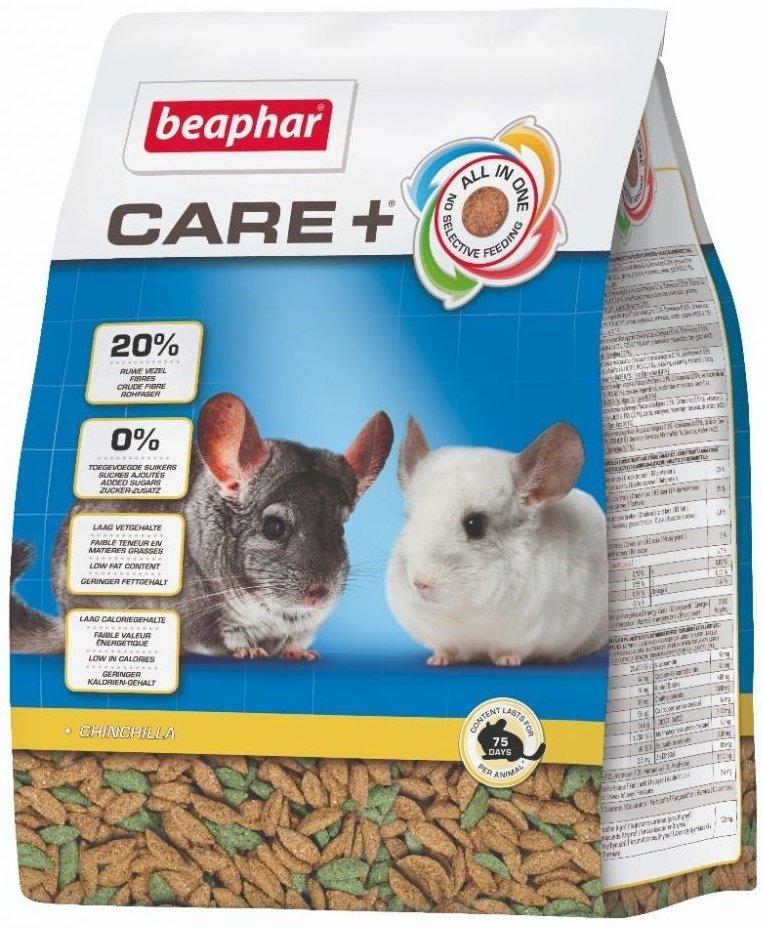 Beaphar Care+ Chinchilla - karma super premium dla szynszyli 1,5kg