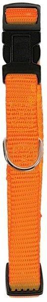 Zolux Obroża nylonowa regulowana 25mm - pomarańczowa