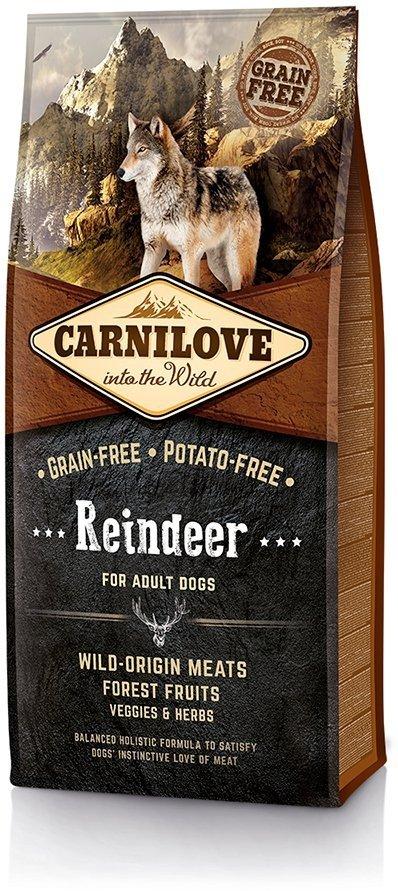 Carnilove Dog Reindeer - dla dorosłych psów 12kg