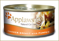 Applaws dla kota puszka 24x156g Kurczak i Dynia