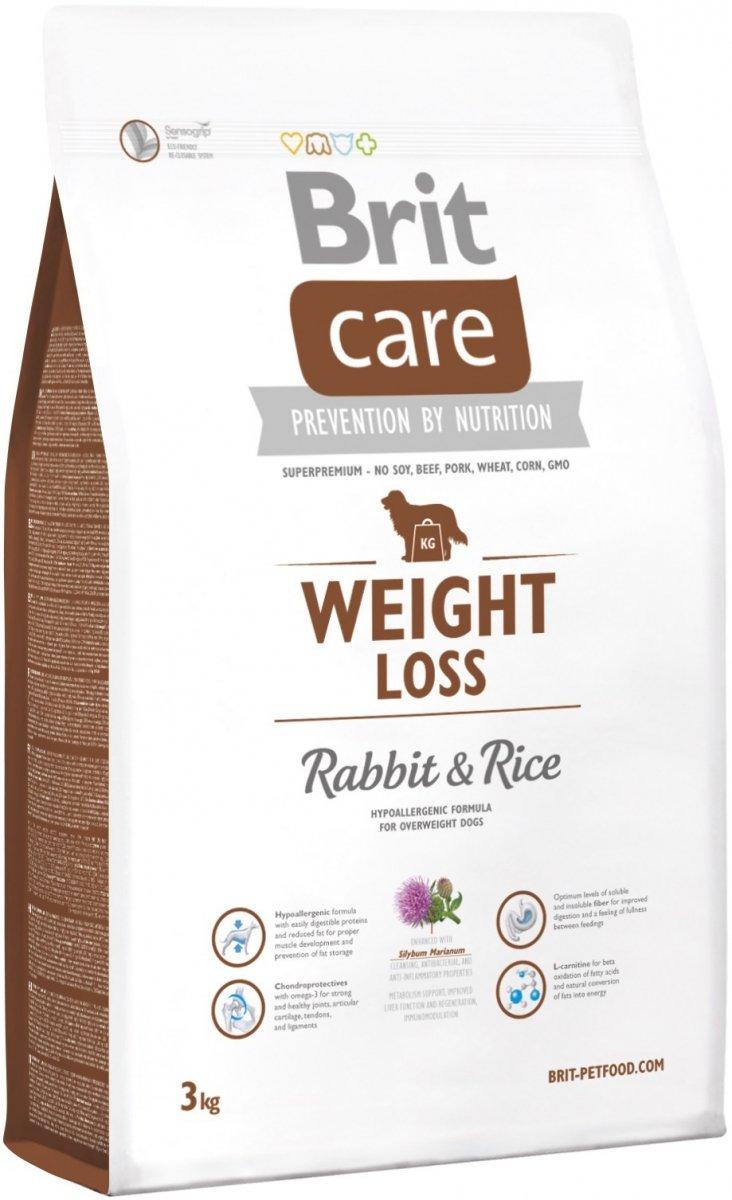 Brit Care Weight Loss - Light - Rabbit & Rice 3kg