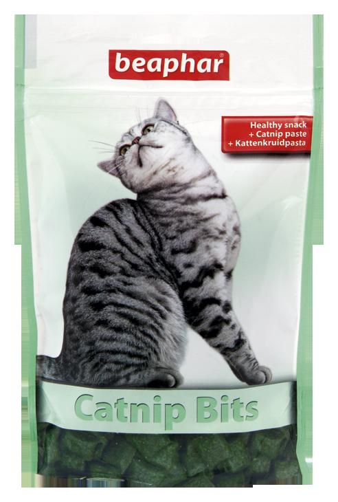 Beaphar Catnip Bits - przysmak dla kotów z kocimiętką 150g