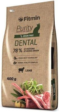 Fitmin Purity Dental - karma z jagnięciną dla kotów na zęby 400g