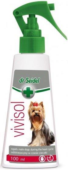 Dr Seidel Vivisol Spray - repelent dla suk w okresie cieczki 100ml