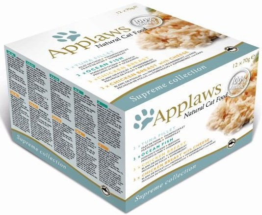 Applaws Multipack puszek Supreme Selection 4 smaki - 12x70g