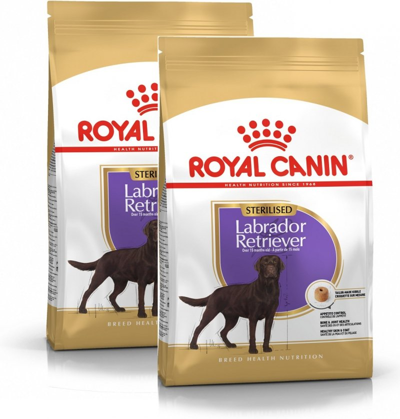 Royal Canin Labrador Retriever Sterilised 2x12kg (24kg)
