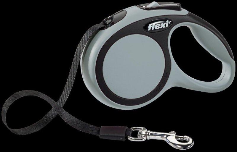 Flexi New Comfort XS taśma 3m - szara