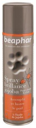 Beaphar Spray nadający połysk z olejkiem jojoba dla psów i kotów 250ml
