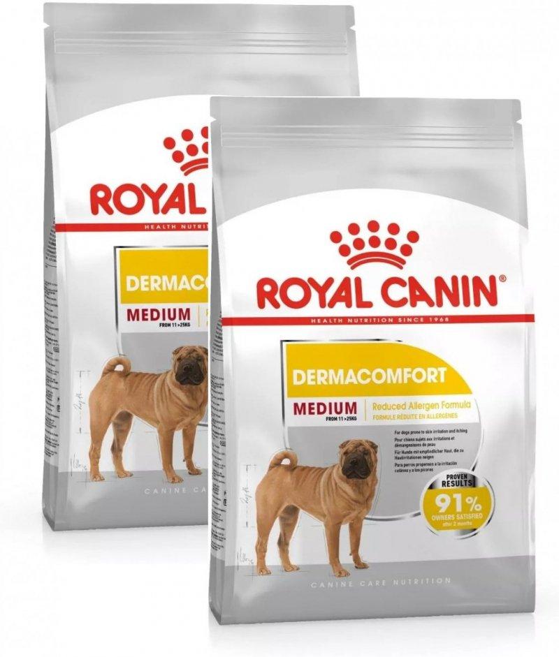 Royal Canin Medium Dermacomfort 2x10kg (20kg)