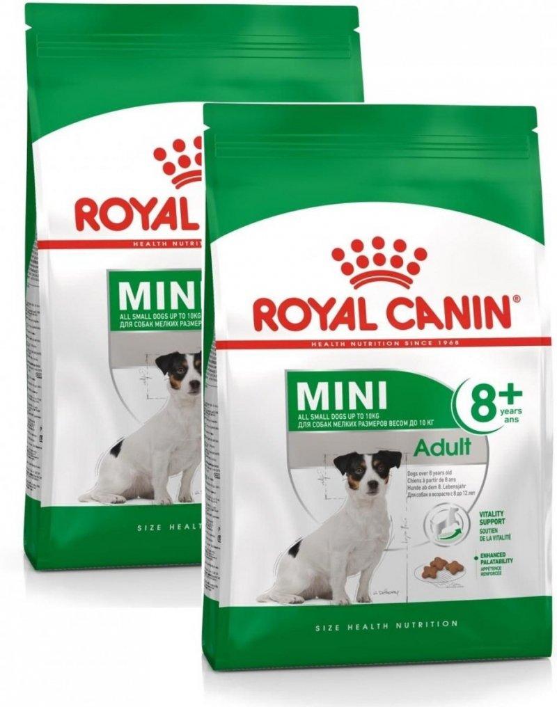 Royal Canin Mini Adult 8+ (powyżej 8 roku życia) 2x8kg (16kg)