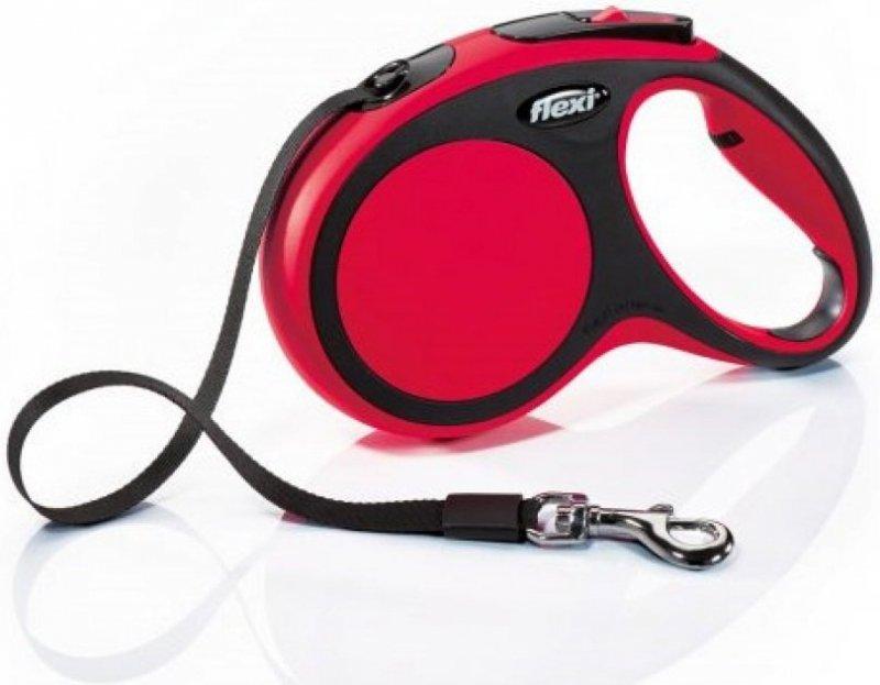 Flexi New Comfort L taśma 8m - czerwona
