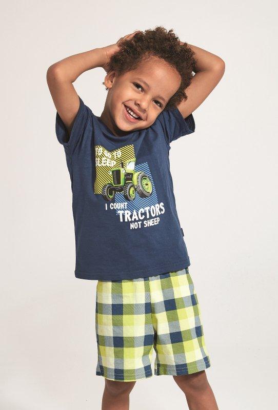 Piżama Cornette Kids Boy 789/79 Tractor kr/r 86-128