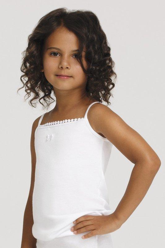 Koszulka Gucio 1151 ramiączko 98-158 dziewczęca